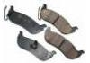 Brake Pad Set:OEMCO CERAMIC PAD