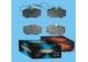 Plaquettes de frein Brake Pad Set:OEMCO brand pads