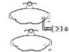 Brake Pad Set:BHM7237